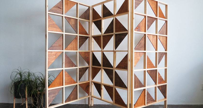 Make Geometric Room Divider Ohoh Blog