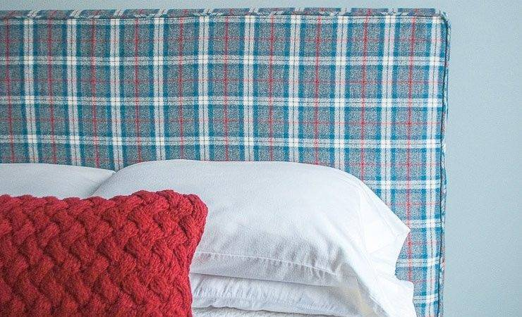 Make Headboard Slipcover Sew Piping