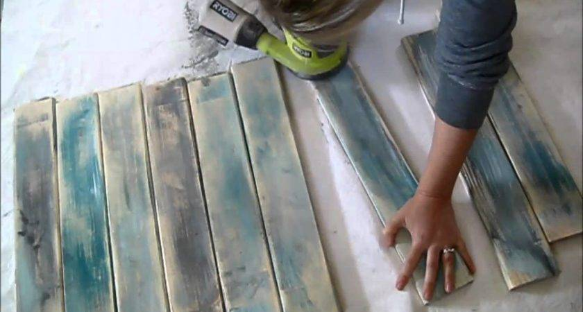 Make New Wood Look Like Old Distressed Barn Boards Autos