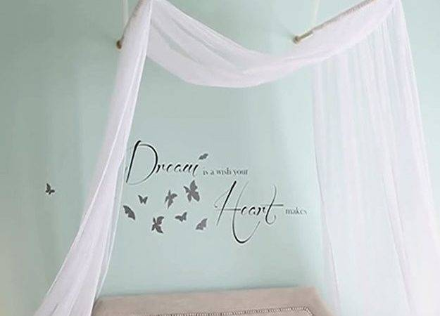 Make Romantic Bed Canopy Diy Projects Craft Ideas