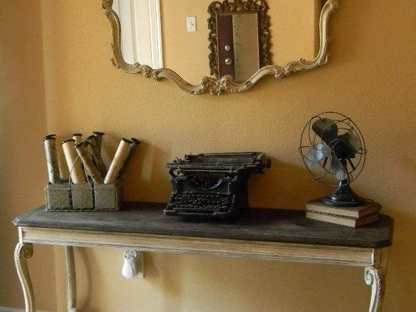 Make Stylish Statement Console Table Decor