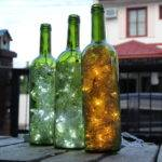 Make Wine Bottle Accent Lights Steps