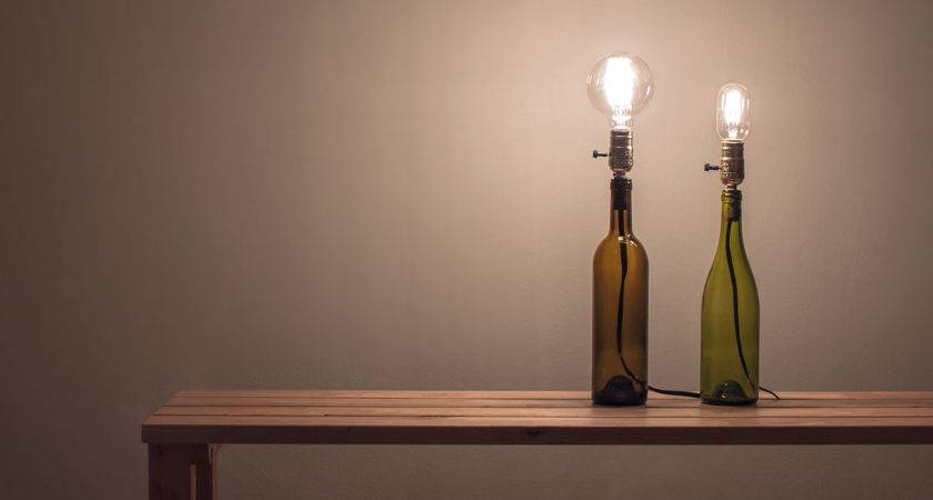Make Wine Bottle Lamp Folly