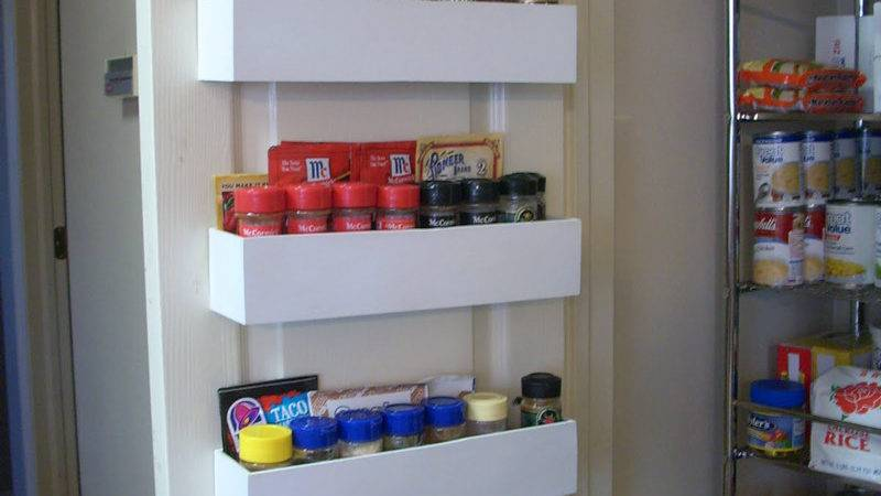 Make Wood Spice Rack Diy Crafts Handimania