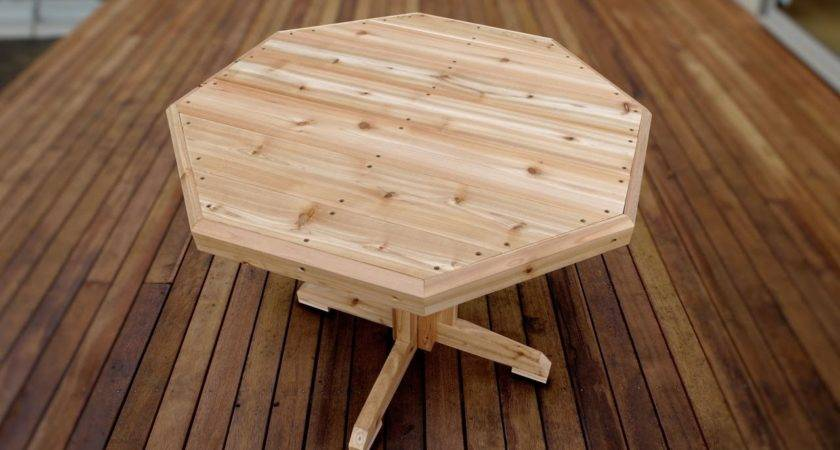 Make Wooden Patio Table Crafts Diy Projects