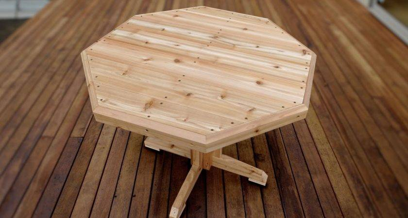 Make Wooden Patio Table Youtube