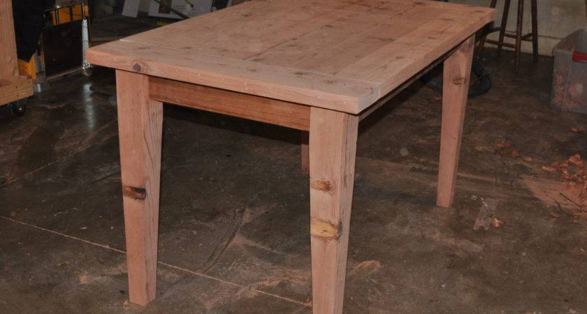 Make Wooden Table Easily Disassembled