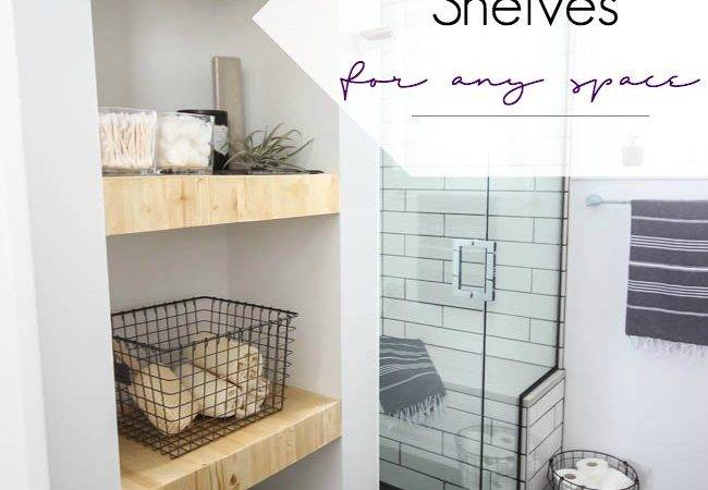 Make Your Own Built Shelving Love Create Celebrate