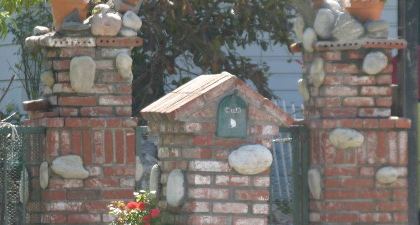 Make Your Post Envious Brick Mailbox Designs Homesfeed