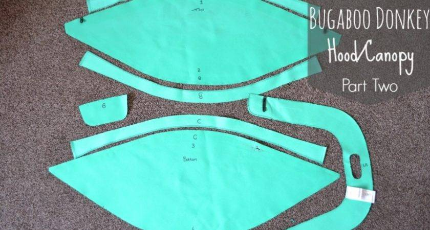 Make Your Very Own Bugaboo Donkey Hood Canopy