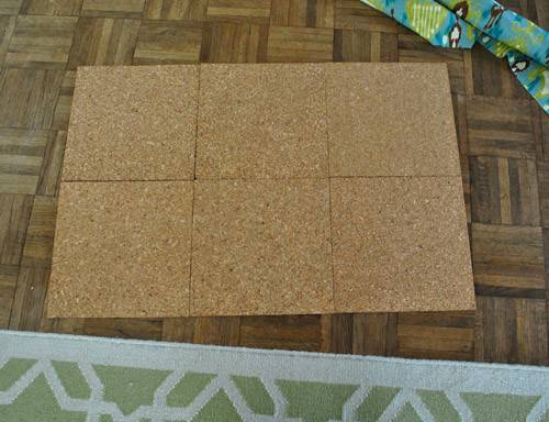 Making Fabric Covered Bulletin Board Young House Love