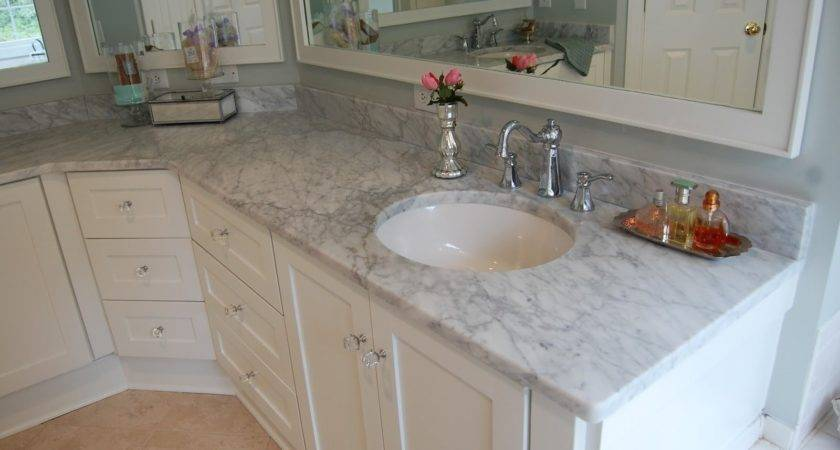 Marble Countertops Bathroom Prefab