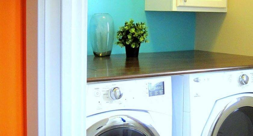 Married Tree Hugger Small Laundry Room Big Color