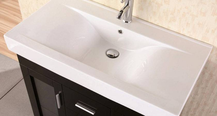 Martina Single Sink Vanity Set Zuri Furniture