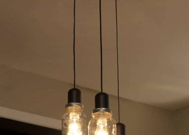 Mason Jar Light Chandelier Pendant