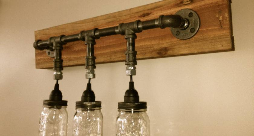 Mason Jar Vanity Light Wall Chicagolights