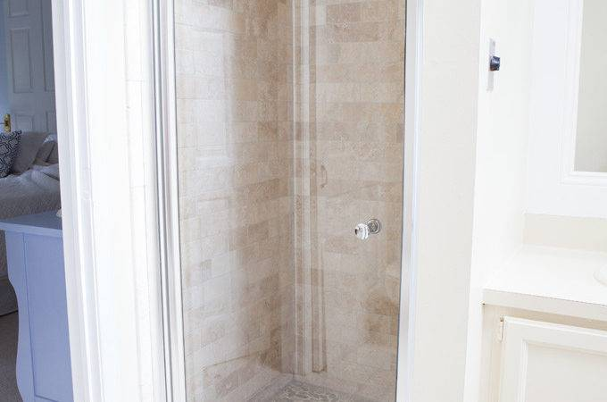 Master Bath Shower Makeover Own Style