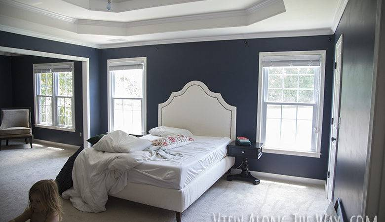Master Bedroom Paint Reveal Along Way