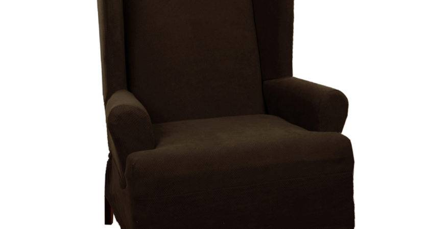Maytex Stretch Wing Chair Cushion Slipcover