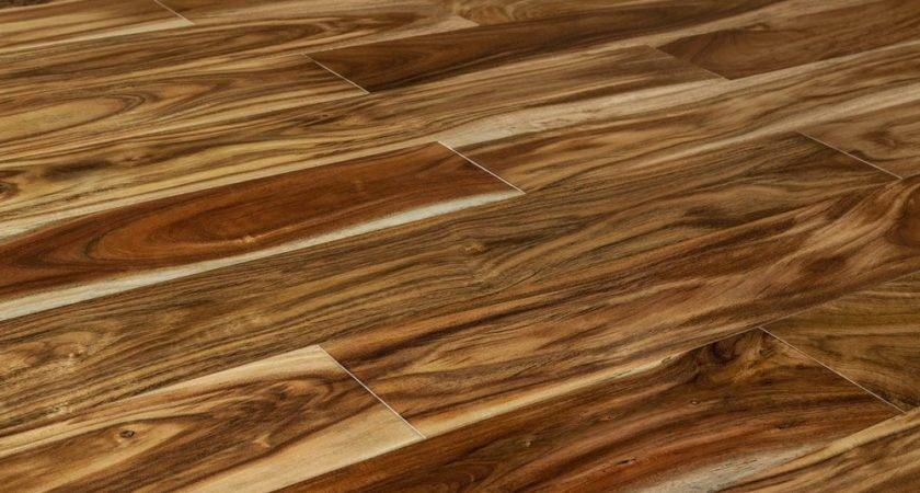 Mazama Hardwood Exotic Acacia Homewell Collection Blonde