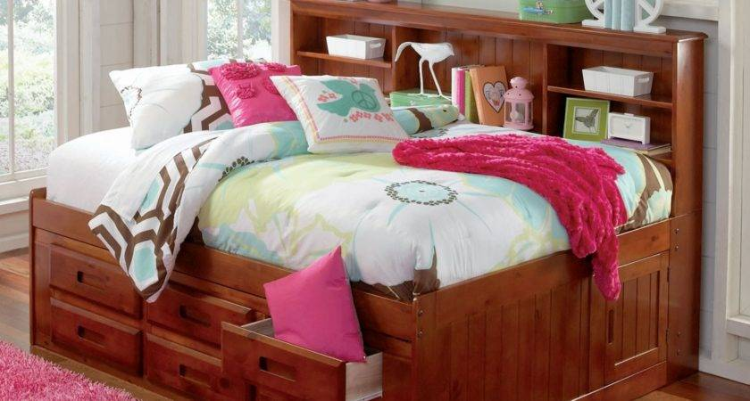 Merlot Bookcase Captain Day Bed Beds