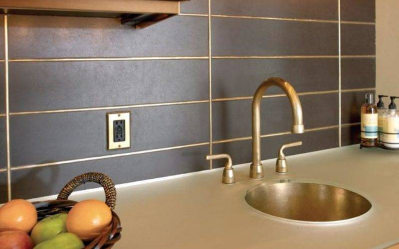 Metal Backsplash Ideas Kitchen Design