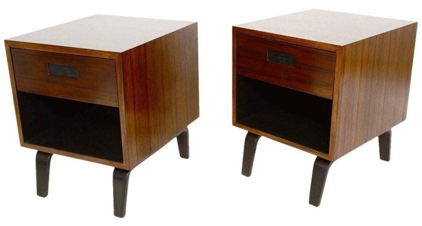 Mid Century Modern Nightstands Clifford Pascoe Sale