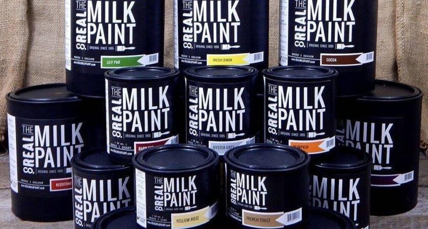 Milk Paint Wood Finishing Products Real