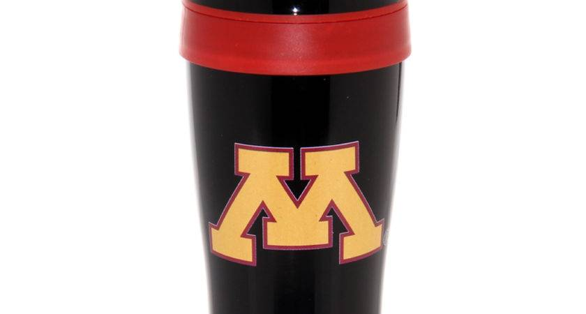 Minnesota Golden Gophers Black Stainless Steel Wrap