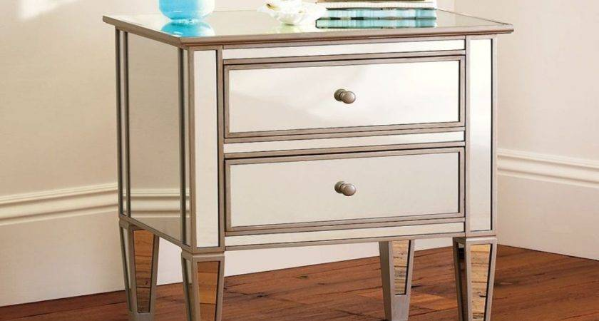 Mirrored Side Tables Drawers Target
