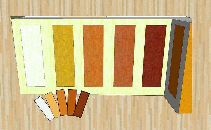 Mix Wood Colors Interior Decorating Steps