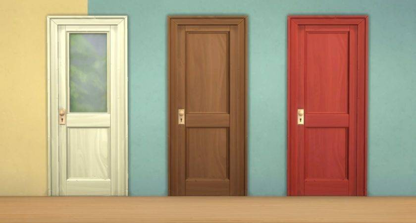 Mod Sims Two Panel Doors Colour Options Fixes
