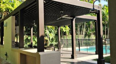 Modern Attached Pergola Design Crowdbuild