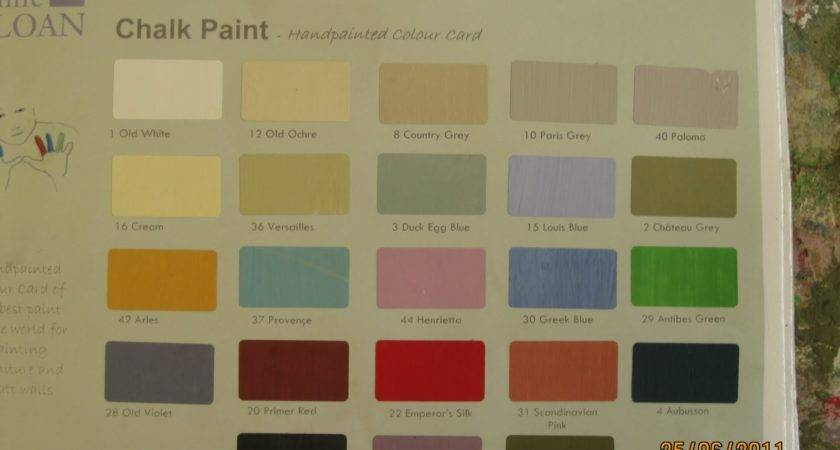Modern Country Style Annie Sloan Week Colour Mixing