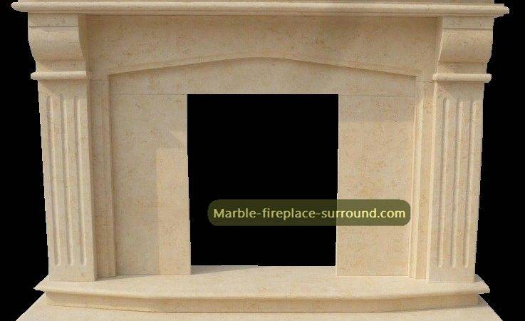 Modern Marble Fireplace Mantel Simple Design Cheap