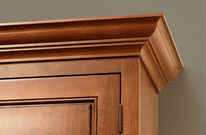 Molding Trim Kitchen Cabinet Finish Cliqstudios