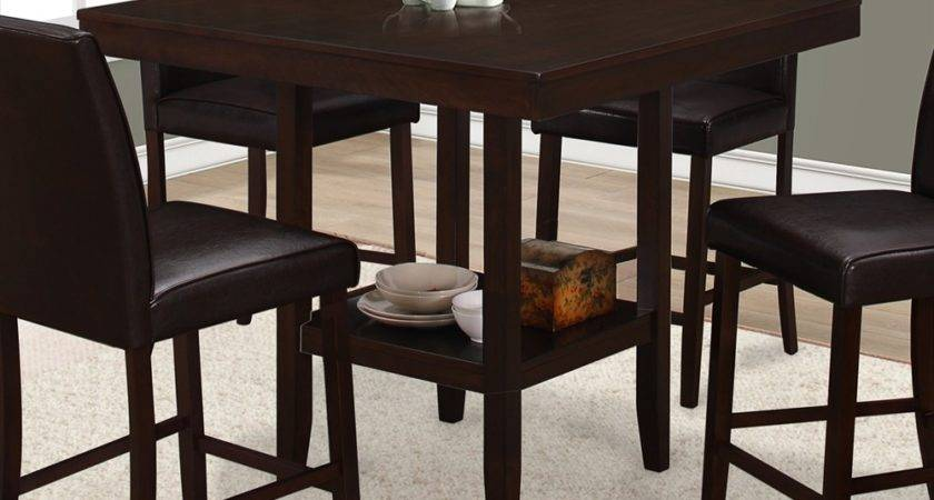 Monarch Specialties Square Counter Height Dining