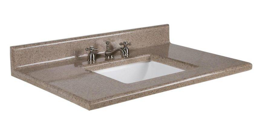 Montreal Cultured Granite Undermount Sink Top