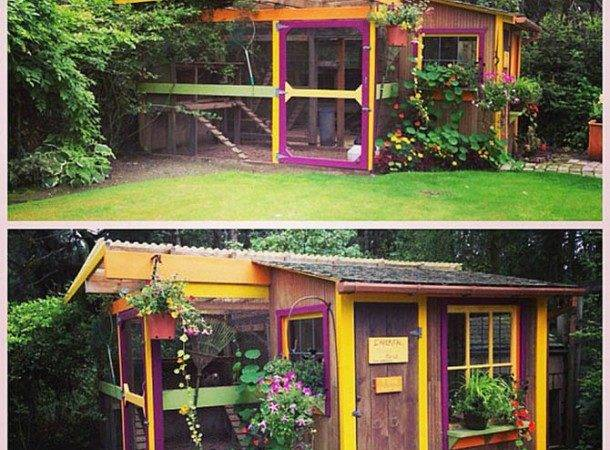 Most Ridiculously Cute Chicken Houses Ever Built Lol