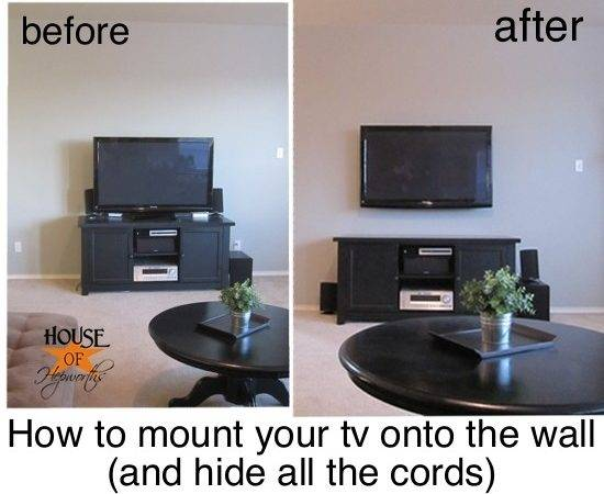 Mount Your Wall Hide All Cords