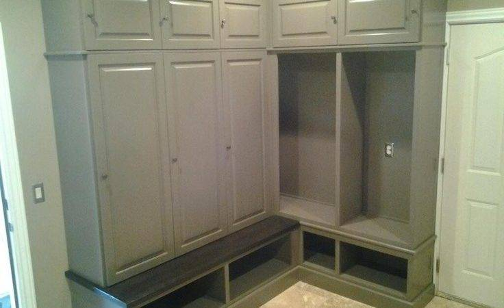 Mudroom Bench Lockers Good