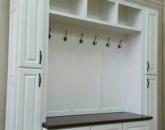 Mudroom Lockers Bench Storage Furniture Coat