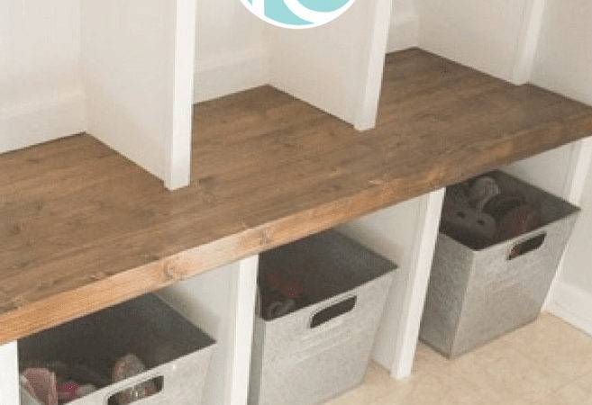 Mudroom Lockers Part Bench Infarrantly Creative