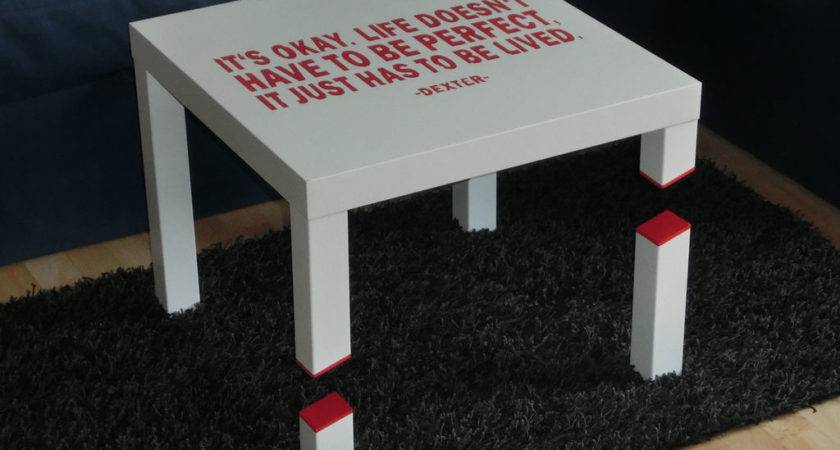 Murder Your Ikea Lack Table Into Something Special Just