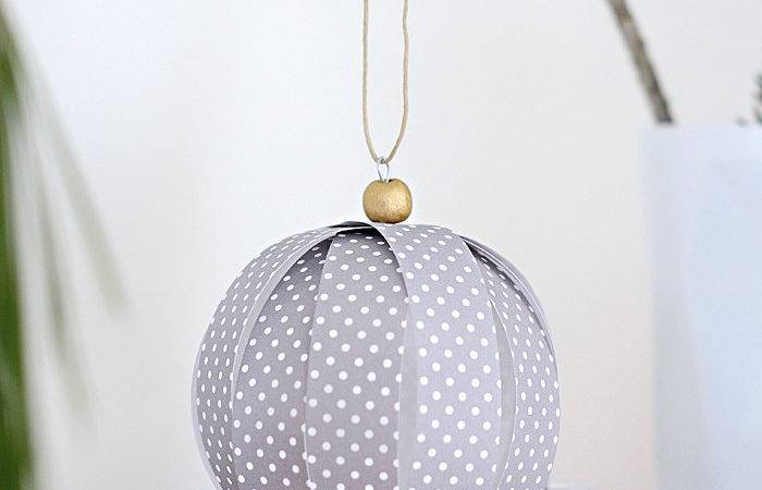 Nalle House Diy Paper Ball Ornaments