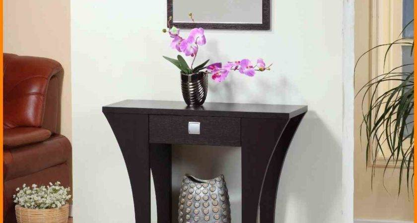 Narrow Console Tables Entryway New Tech Timeline