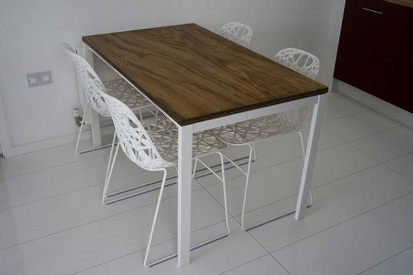 Natural Impression Plywood Table Top Home