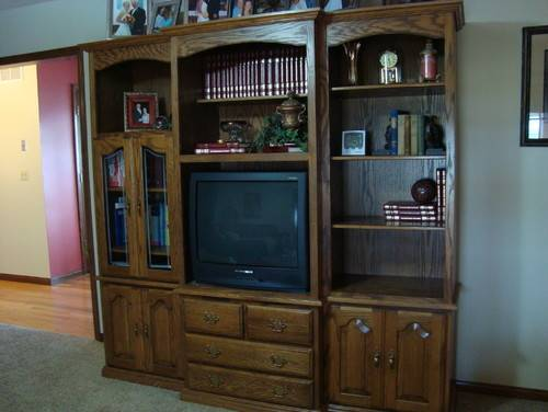 Need Ideas Repurpose Entertainment Center Into Computer