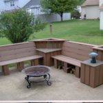 New England Garden Shed Plans Outdoor Corner Bench