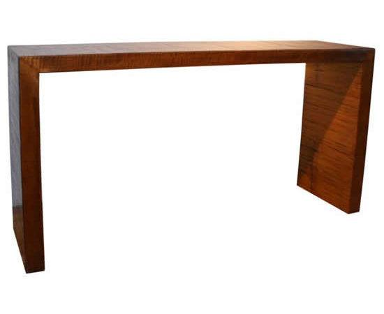 New Focus Waterfall Table Antique Bamboo